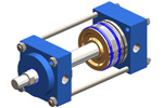 How does a pneumatic cylinder work?