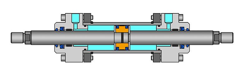 Cilindro de doble vástago
