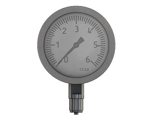 Pressure gauge - accuracy class
